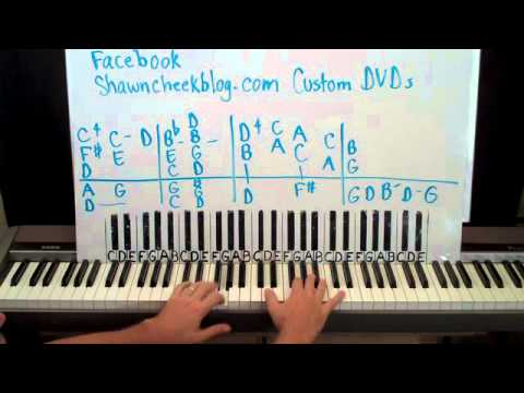 How To Play Marie by Randy Newman Piano Lesson Shawn Cheek Tutorial