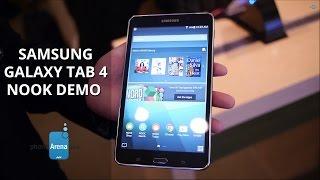 Samsung Galaxy Tab 4 Nook demo