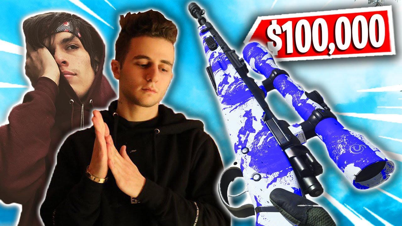 Sniping in a $100,000 Kill Race Tournament with @FaZe Testy & @FaZe Pamaj
