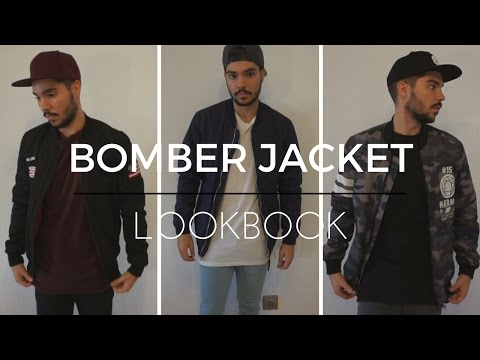 Bomber Jacket Lookbook | Street Style Men's Fashion