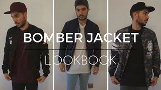Bomber Jacket Lookbook | Street Style Men
