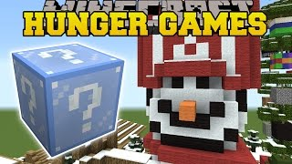 Minecraft: CHRISTMAS VILLAGE HUNGER GAMES - Lucky Block Mod - Modded Mini-Game