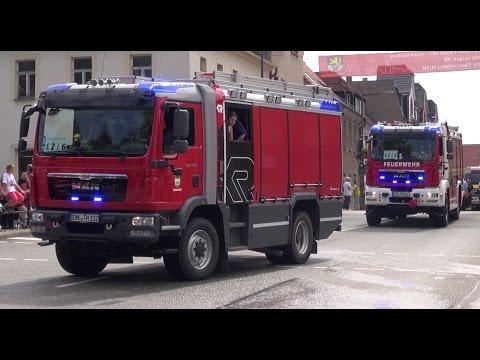 Festumzug 150 Jahre Freiwillige Feuerwehr Ronneburg