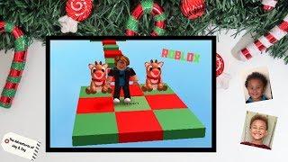 ROBLOX CHRISTMAS OBBY W/ JAY & ZAY