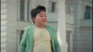 Реклама с финалистом шоу «Голос.Дети». Максим Ержан. На первом уже всё продано