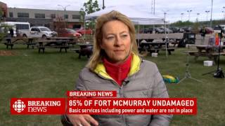 CBC News Network Ian Hanomansing speaks with Adrienne Arsenault about evacuee reactions to seeing Fo