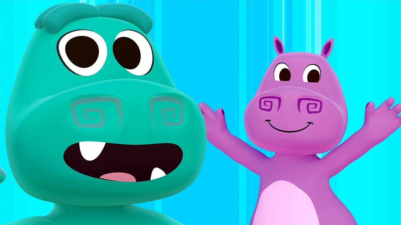 Canción del Cocodrilo y El Hipopótamo y Más Canciones con Animales del Zoo | Canciones del Zoo