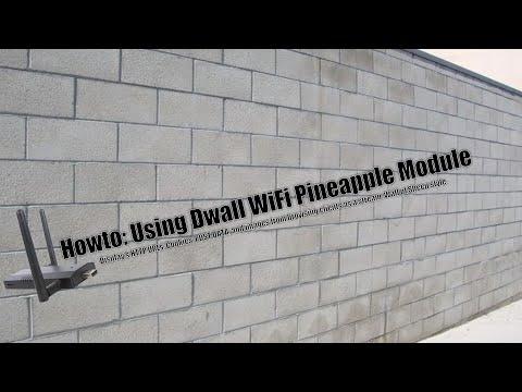 Howto: Using Dwall WiFi Pineapple Module