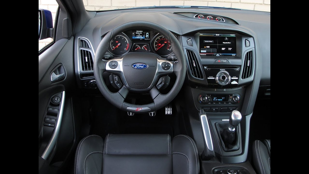 2014 ford focus st review youtube for Interieur ford focus
