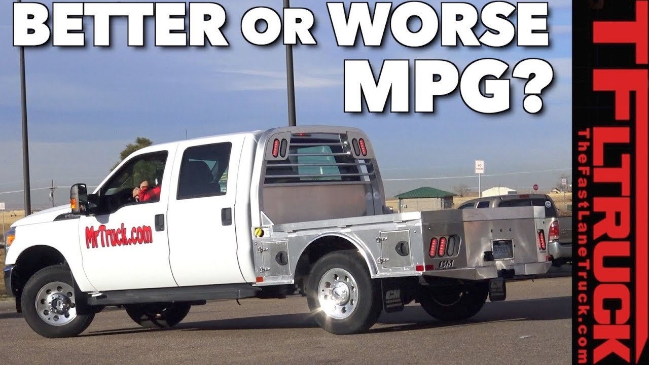 Does a Flatbed Improve Your Truck\'s Fuel Economy? Surprise! - YouTube