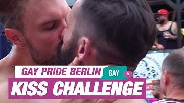 Gay Kiss Challenge 😈😈 Gay Games