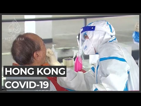 China healthcare workers in Hong Kong to battle COVID-19