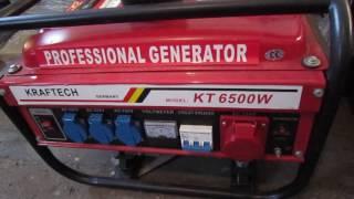 Сравнение-обзор генераторов Krafttech KT6500 и Swisskraft SK 8500