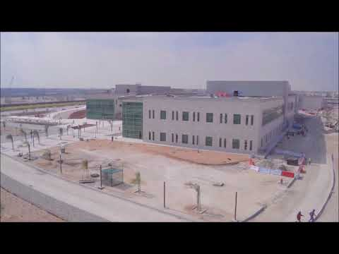 Qatar Foundation Research and Development Complex Project Time Lapse Video