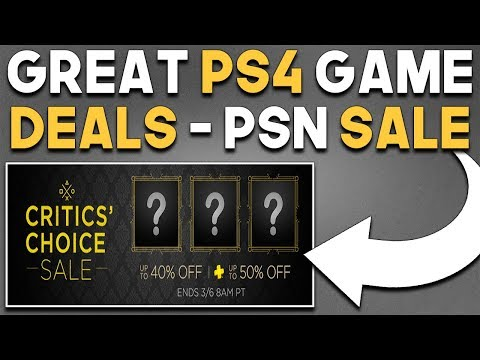 10 GREAT PS4 DIGITAL Games PSN Sale Available RIGHT NOW!