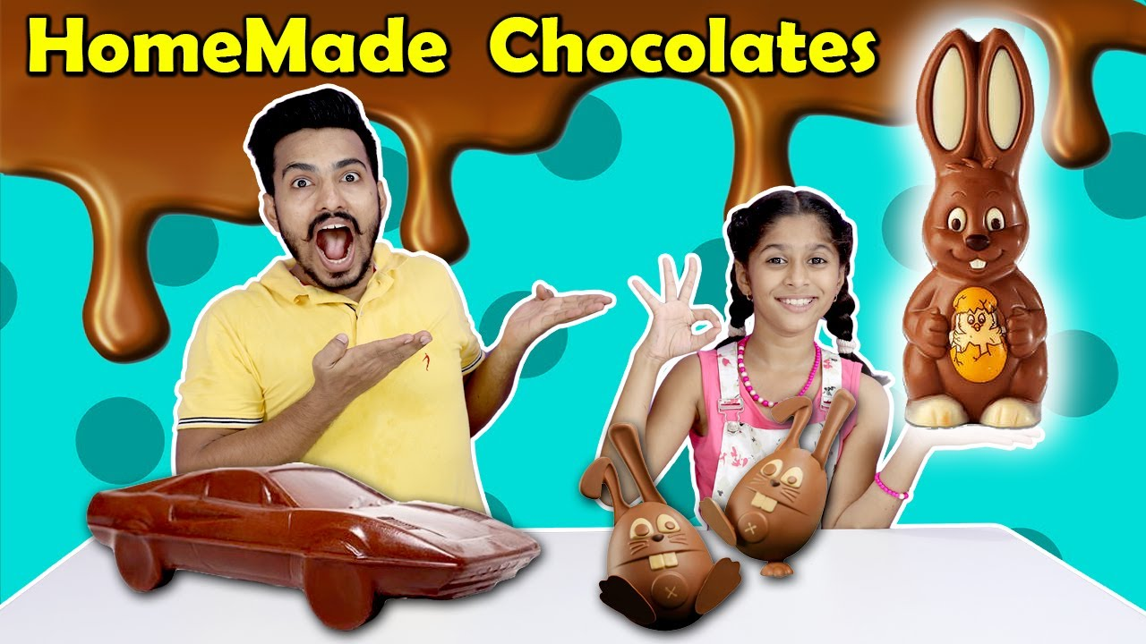Pari Making Chocolates In 2 Minutes At Home | Pari's Lifestyle