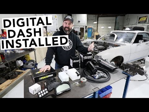 Mounting the Digital Dash + Catch Cans Galore! RA24 Toyota Celica Project - EP29