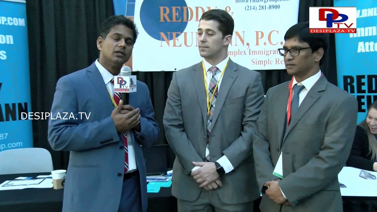 Immigration Lawyer Rahul Reddy Speaks to Desiplaza TV at ITSERVE SYNERGY 2017