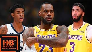 Los Angeles Lakers vs Memphis Grizzlies - Full Game Highlights   October 29, 2019-20 NBA Season