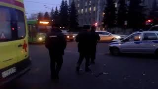 ДТП на улице Вагжанова в Твери 23.11.17