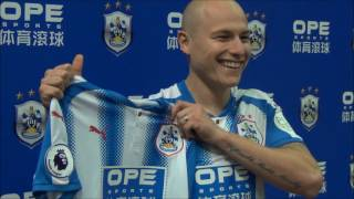 INTERVIEW: New signing Aaron Mooy speaks to HTTV about joining Huddersfield Town