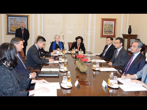 Chinese FM Meets With Top Slovenian Officials In Ljubljana
