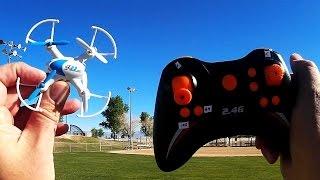 SY X23 Space Explorer Nano Drone Flight Test Review