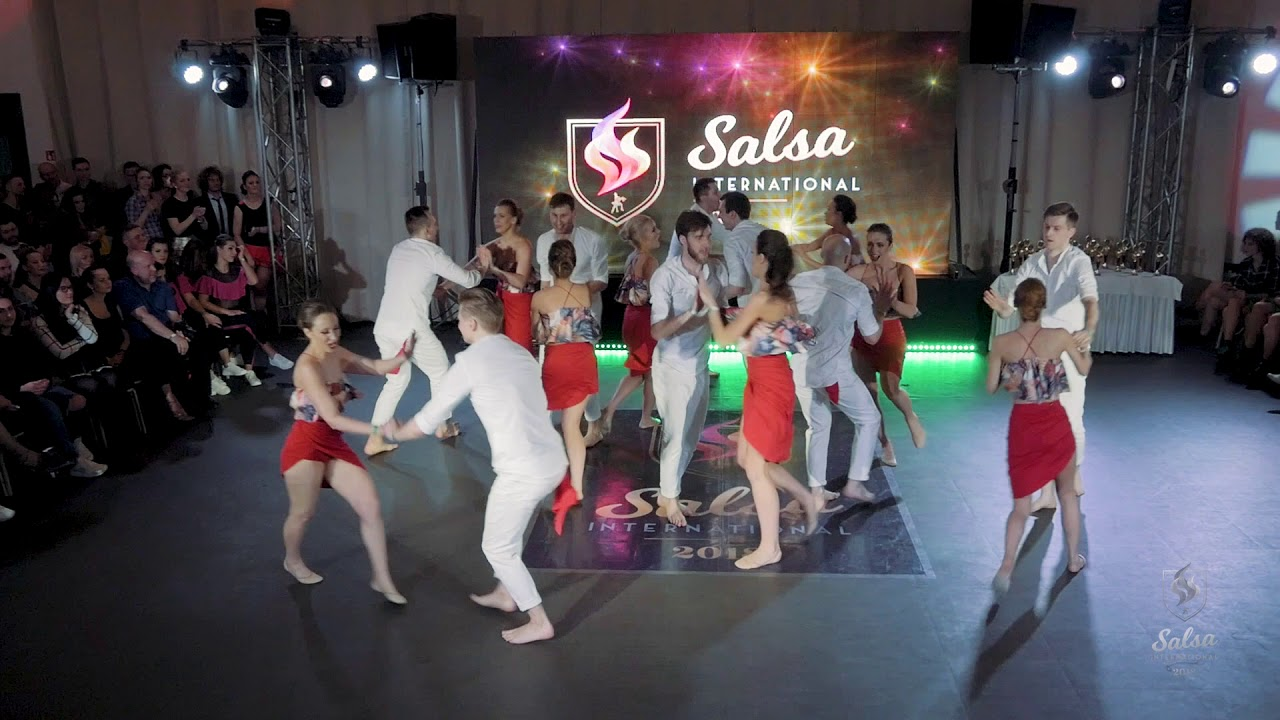 Salsa Rueda De Casino