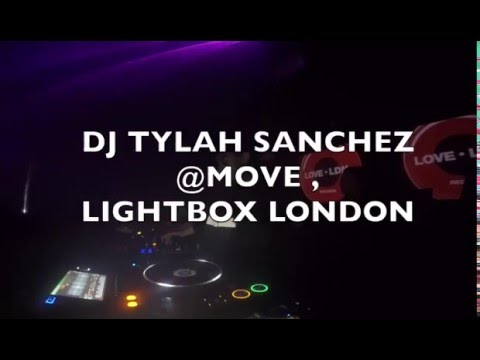 Tech House DJ TYLAH SANCHEZ LIVE @ MOVE @ LIGHTBOX LONDON (FULL SET)