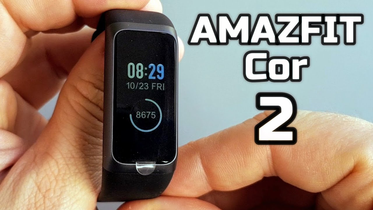 Amazfit Band 2 Cor Unboxing and Review - YouTube