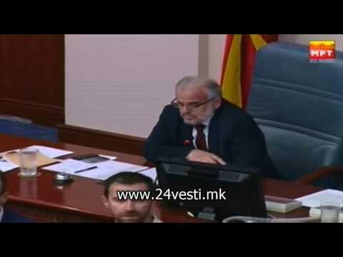 Бурна расправа во Собрание, ВМРО-ДПМНЕ ја окупираше говорницата