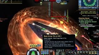 Star Trek Online   Obelisk Carrier VS Warbarge Dreadnought
