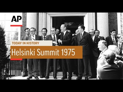 Helsinki Summit - 1975 | Today in History | 30 July 16