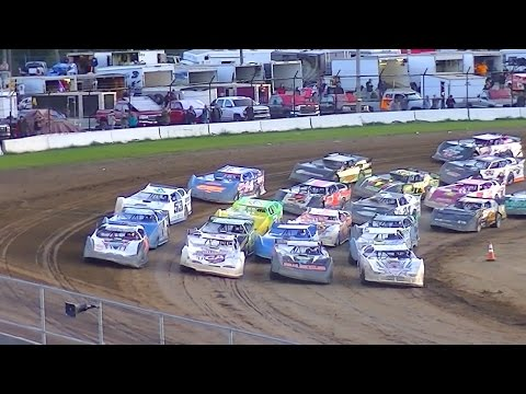 RUSH Crate Late Model Feature | McKean County Raceway | Fall Classic | 10-10-15