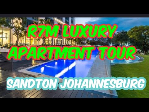 Virtual Tour | Explore Sandton | Luxury Apartments 2020 | South Africa | Embassy Towers | Joburg