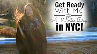 Get Ready With Me ♡ A Winter Day in NYC! Thumbnail
