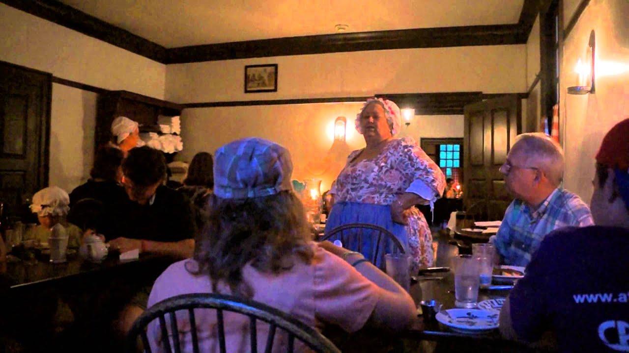 Christina campbell 39 s in williamsburg va youtube for Christina campbell tavern
