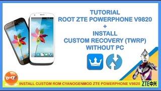 Video ROOT & INSTALL CUSTOM RECOVERY (TWRP) ZTE A5 POWERPHONE V9820 TANPA PC download MP3, 3GP, MP4, WEBM, AVI, FLV Juni 2018