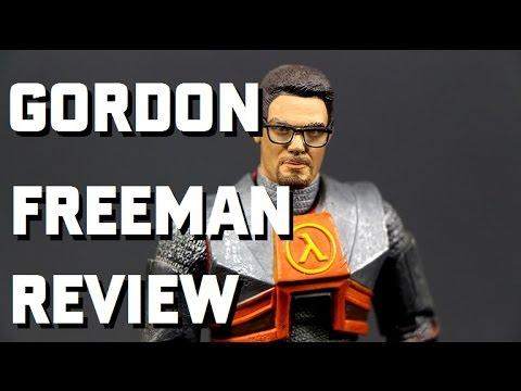 Valve's Gordon Freeman Half Life 2 Action Figure Review By NECA