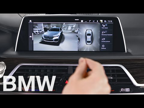 How to use the different camera views of Surround View – BMW How-To