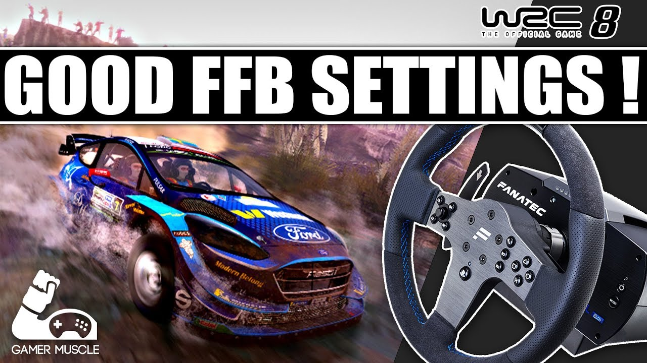 WRC8 - Good FFB Settings Guide