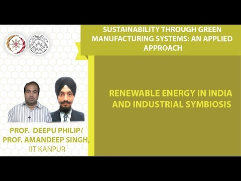 Renewable energy in India and Industrial Symbiosis