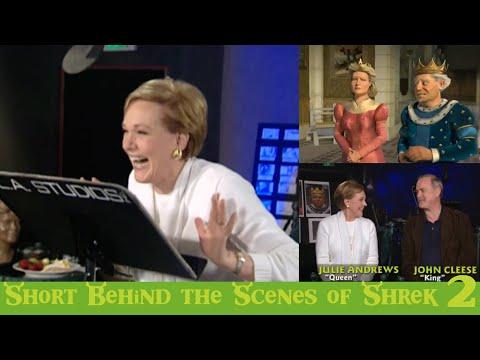 Behind The Scenes Of Shrek 2 (2004) - Julie Andrews, John Cleese