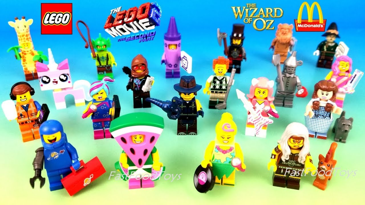 2019 Lego Movie 2 Minifigures Full Set 20 Blind Bags