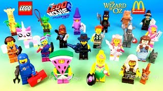 2019 LEGO MOVIE 2 MINIFIGURES FULL SET 20 BLIND BAGS WIZARD OF OZ McDONALD'S HAPPY MEAL TOYS 71023