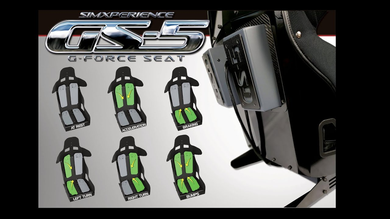GS-5 G-Force Seat by SimXperience - Introduction