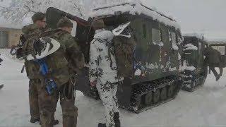 BUNDESWEHR IM EINSATZ: Weiße Massen erdrücken die Alpenregion