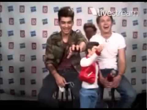 Zayn and Niall On Twitcam (9/5/12) With there dolls