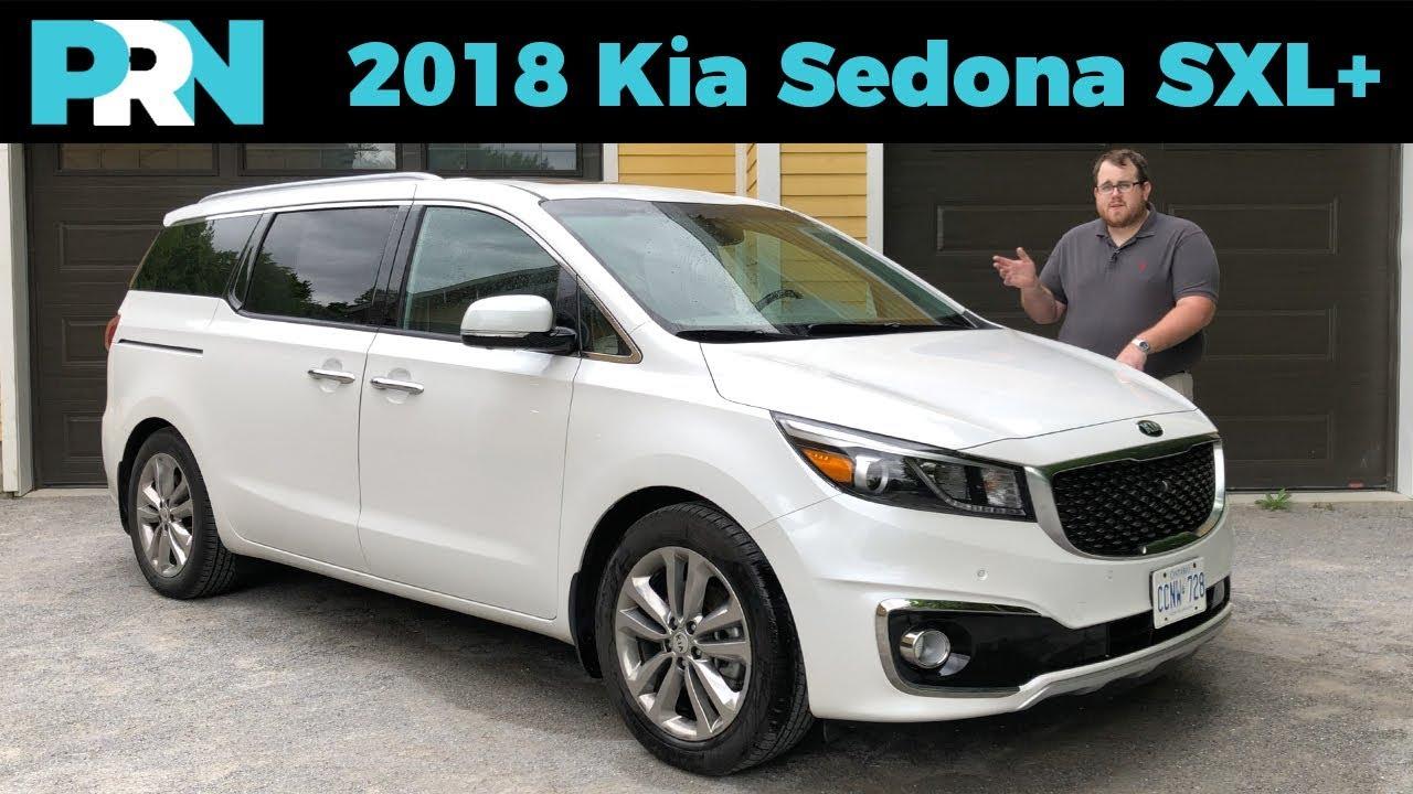 Crossover Alternative 2018 Kia Sedona Sxl Testdrive Spotlight