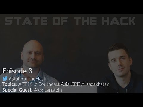 State of the Hack - Episode 03: Hunting Targeted Attackers at Scale, Live-ish from RSA